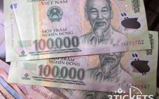 Какие деньги во вьетнаме