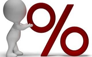 Как подсчитать процент от суммы