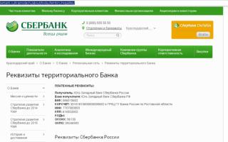 Что такое подразделение банка сбербанк