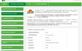Как оплатить свет через интернет банкинг беларусбанк